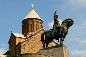 Vakhtang Gorgasali'nin heykeli