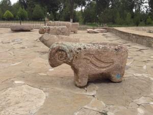 Açık Hava Müzesi Koç Başlı Mezar Taşları